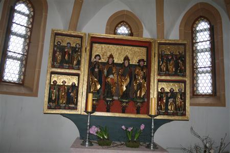 Kapelle in der Burg Mildenstein