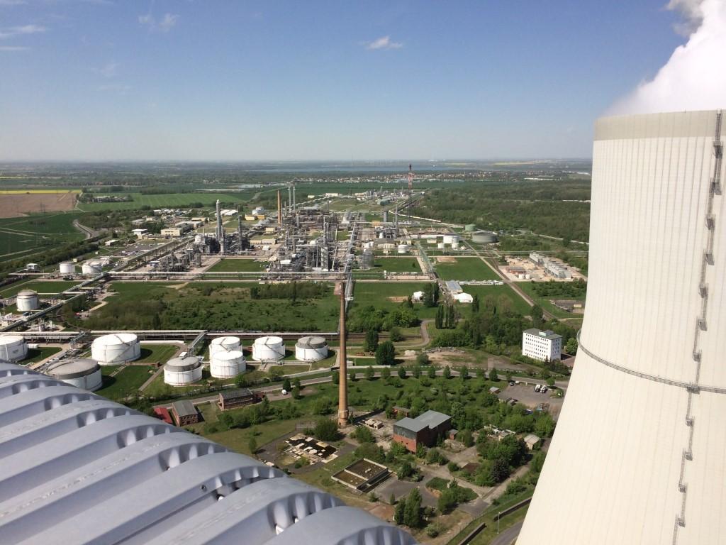 höhen kletterer für reiniegung kraftwerke