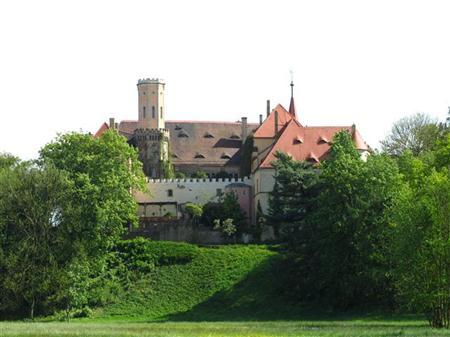 Englischer Landschaftsgarten bei Schloss Püchau