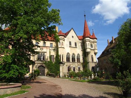 Das Schloss Püchau bei Leipzig